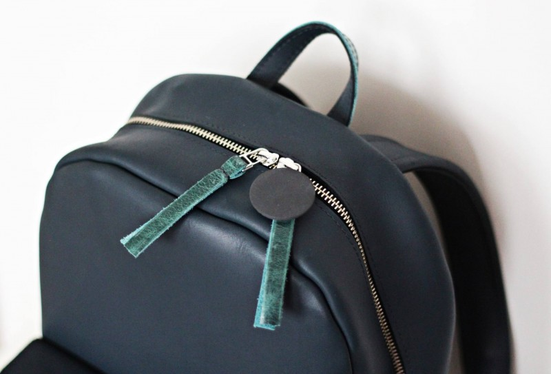 New in: DobShop leather backpack