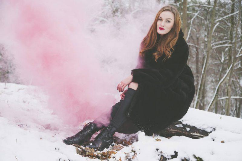 Photoshoot: winter wonderland