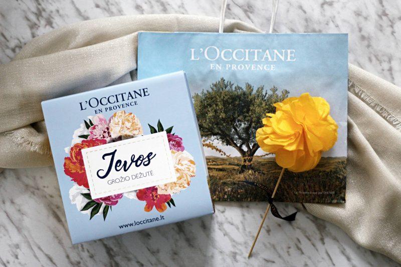 L'occitane beauty box by Ieva