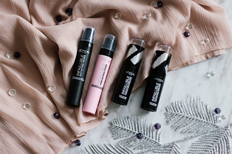 New things to try: L'oreal Paris primer & stick foundation