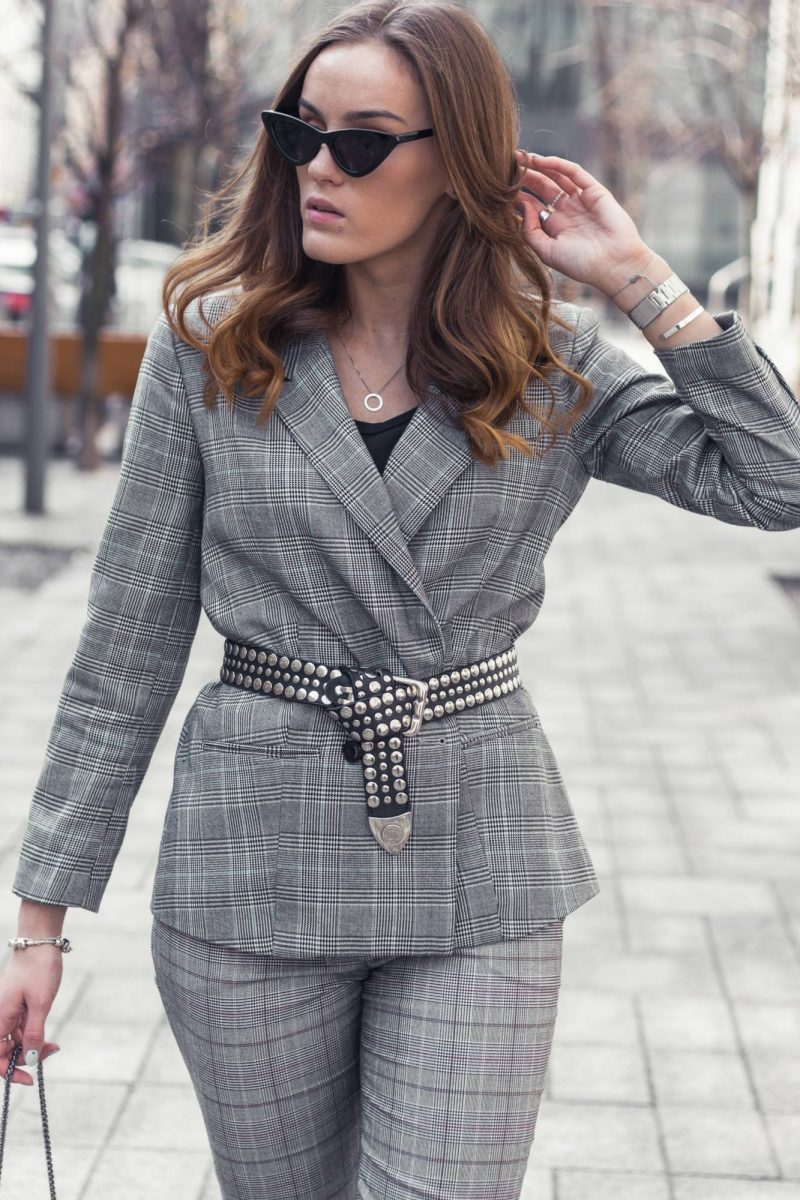 Outfit of the day: pant suit & big city vibes