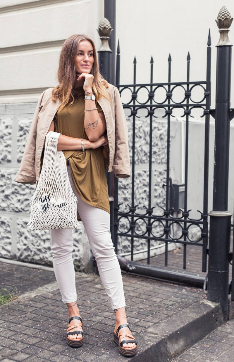 Outfit of the day: safari vibes & neutral tones
